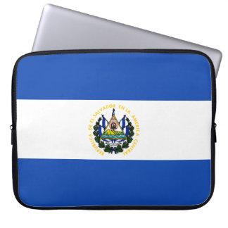 El Salvador Flagge Laptop Sleeve