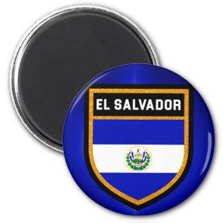El Salvador Flagge Runder Magnet 5,1 Cm