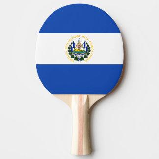 El Salvador Flagge Tischtennis Schläger