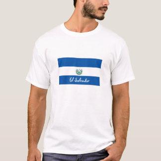 El Salvador Flaggen-Andenkent-shirt T-Shirt