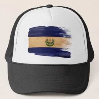 El Salvador Flaggen-Fernlastfahrer-Hut Truckerkappe
