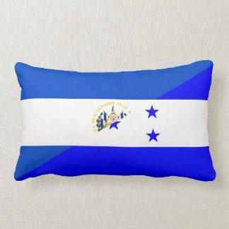 El Salvador Honduras halbes Flaggen-Landsymbol Lendenkissen