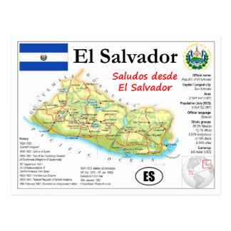 El Salvador Karten-Postkarte Postkarte
