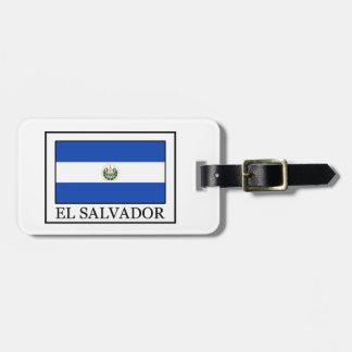 El Salvador Kofferanhänger