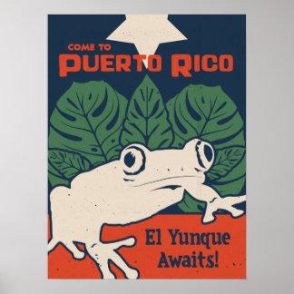 EL Yunque erwartet Poster