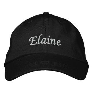 Elaine Besticktes Baseballcap