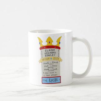 Elaine gegen. Die englischer Kanal-Tasse Tasse