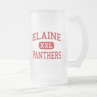 Elaine - Panther - Highschool - Elaine Arkansas Matte Glastasse