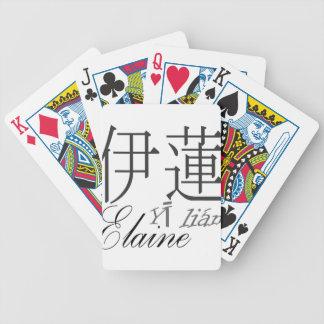 Elaine Spielkarten
