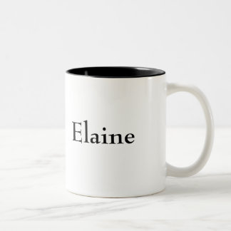 Elaine Kaffee Tasse