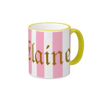 Elaine-Tasse Ringer Tasse