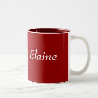 Elaine Zweifarbige Tasse