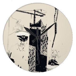 Elbphilharmonie Hamburg :: Große Wanduhr