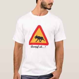 Elch_Alarm_Dampf_ab ! T-Shirt