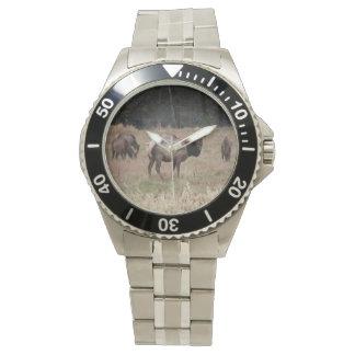 Elch-Armbanduhr Uhr