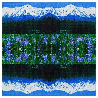 Elch-Horn-Iris-Gewebe Stoff