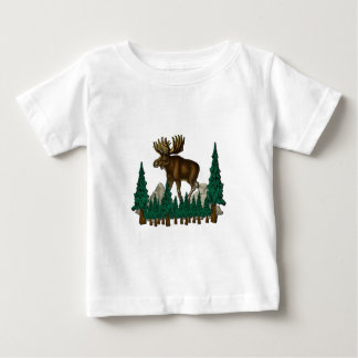 Elch-Land Baby T-shirt