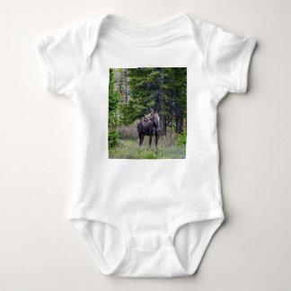 Elch-Mutter Baby Strampler