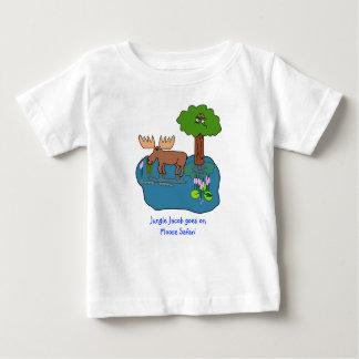 Elch-Safari Baby T-shirt