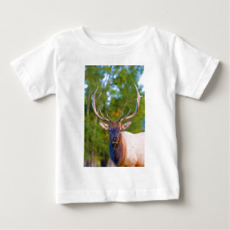 Elch-Stier-Augen Baby T-shirt
