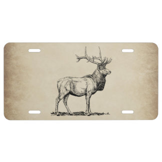 Elch-Tier-Jagd-Neuheits-Fronten-Kfz-Kennzeichen US Nummernschild