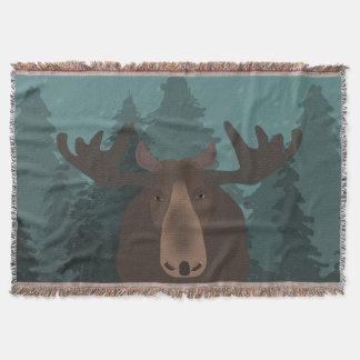 Elch-Wurfs-Decke Decke