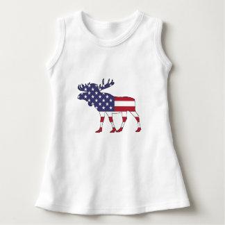 """Elche """"amerikanische Flagge """" Kleid"""