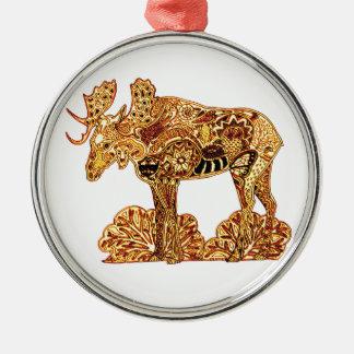 Elche Silbernes Ornament