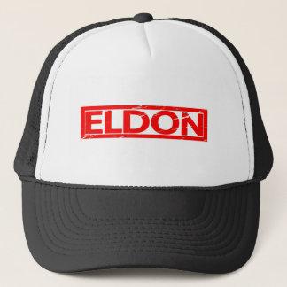 Eldon Briefmarke Truckerkappe