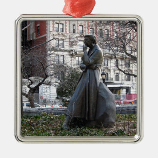 Eleanor- Rooseveltmonument Silbernes Ornament
