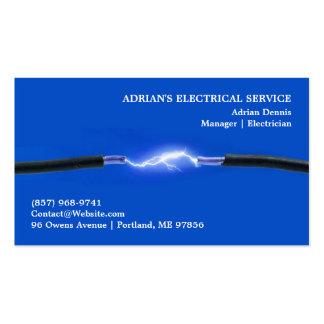 Electrician Business Card Visitenkarten