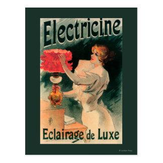 Electricine förderndes PosterFrance Postkarten