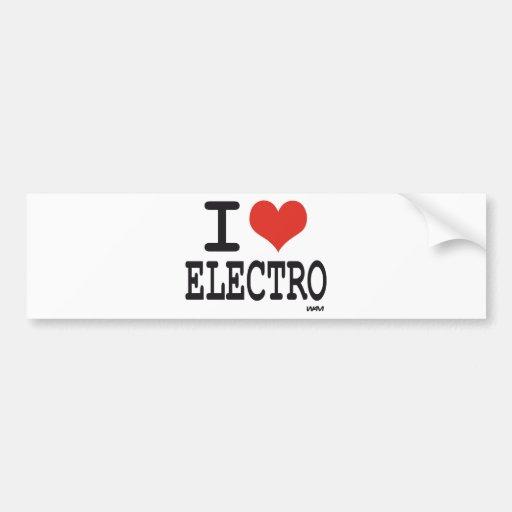 Electro der Liebe I Autosticker