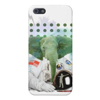 Elefant-Astronaut iPhone 5 Schutzhülle