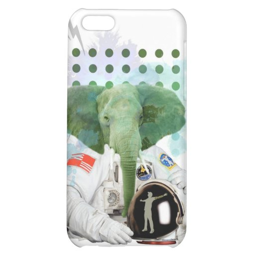 Elefant-Astronaut iPhone 5C Hüllen