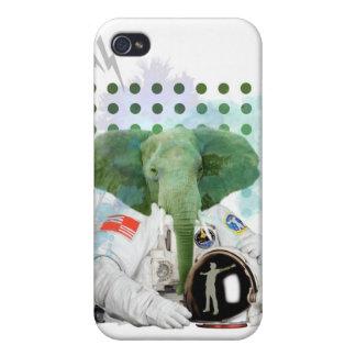 Elefant-Astronaut iPhone 4/4S Hüllen