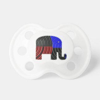 Elefant-Aufgabe - Politik von Eseln 2012 Schnuller