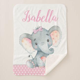 Elefant-Baby-Decke Sherpadecke