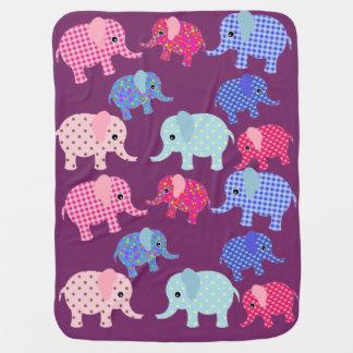 Elefant Babygirl Decke
