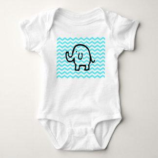 Elefant babygrow tshirt
