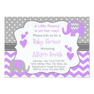 Elefant Babyparty Einladung, Elefant Dusche Karte