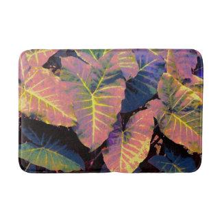 Elefant-Blätter in den tropischen Pastellen Badematte
