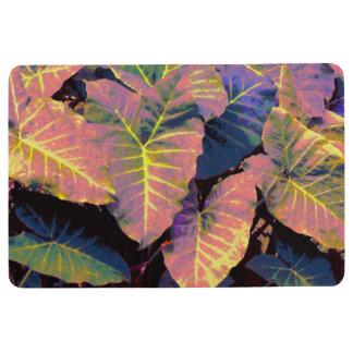 Elefant-Blätter in den tropischen Pastellen Bodenmatte