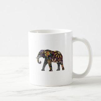 Elefant bunt kaffeetasse