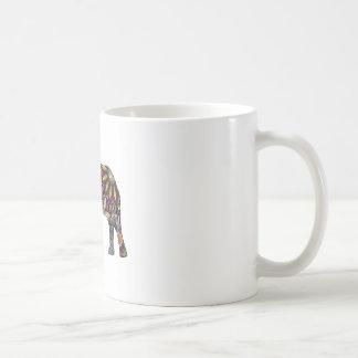 Elefant bunt tasse