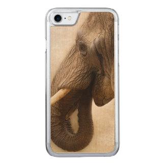 Elefant Carved iPhone 8/7 Hülle