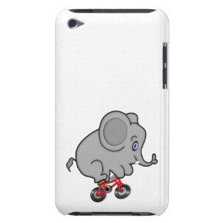Elefant der ein Fahrrad reitet iPod Touch Etuis