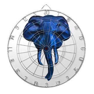 Elefant des Mutes Dartscheibe