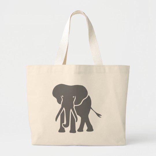elefant elephant jumbo stoffbeutel
