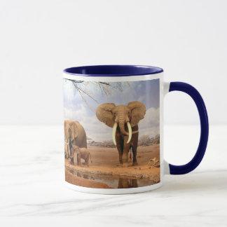 Elefant-Familie Tasse